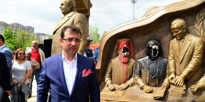 """Başkan İmamoğlu'ndan Yaşam Vadisi'ndeki """"Heykel"""" Saldırısıyla İlgili Açıklama"""