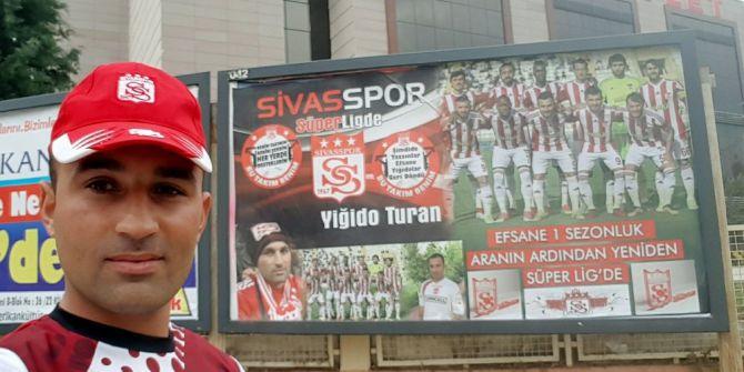 Asker Yiğidonun Sivasspor Sevgisi