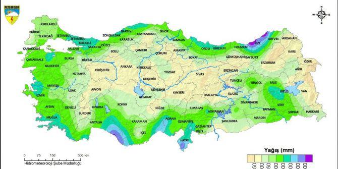 Karadeniz'de En Fazla Yağışı Rize Ve Trabzon Aldı