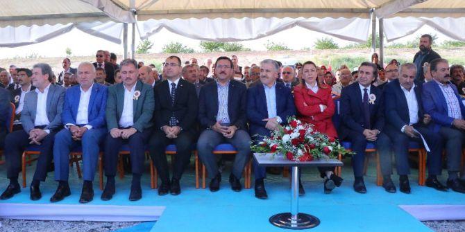 Malatya'da Kuzey Çevreyolunun Temeli Atıldı