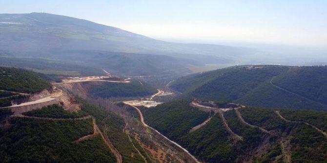 Gölecik Barajı'nda Çalışmalar Sürüyor
