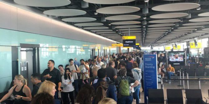 British Airways'deki Kriz Üçüncü Gününde