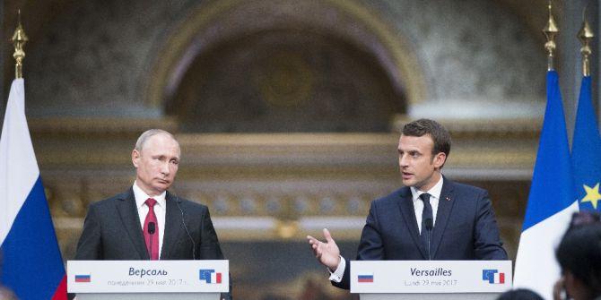 Macron İle Putin Görüştü