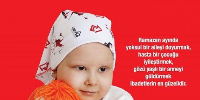 Ramazan Bağışlarınızla, Fitre Ve Zekâtlarınızla Önce Çocuklar İyileşsin