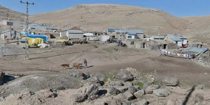 Ağrı Tutak Alacahan Köyü