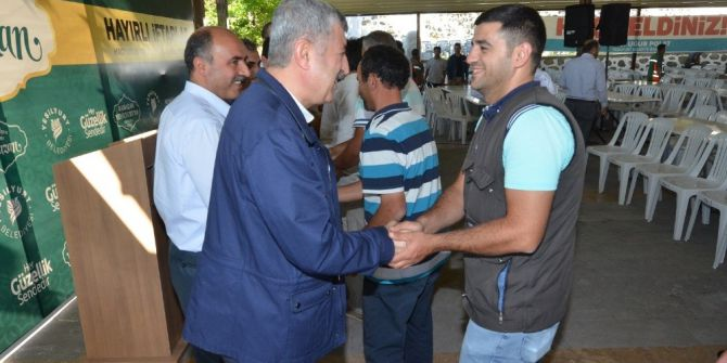 Bakan Tüfenkci Yeşilyurt Belediyesi Personel Bayramlaşmasına Katıldı