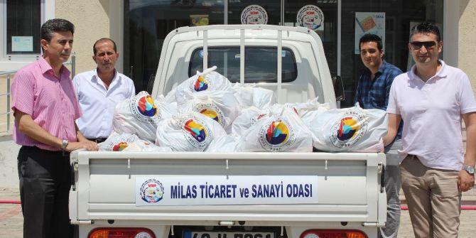 Tobb - Mitso İşbirliğinde 720 Aile Sevindirildi