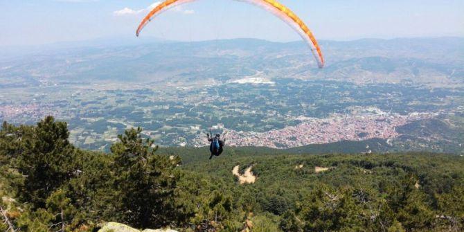 Simav'da Yamaç Paraşütü