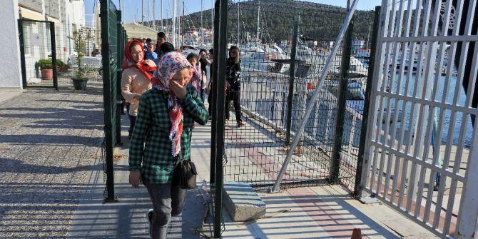Çeşme'de 28 Kaçak Göçmen Daha Yakalandı
