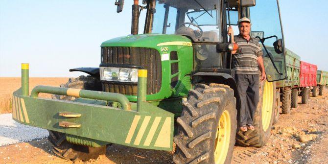Çiftçilerin Bayram Mesaisi 'Buğday' Hasadı