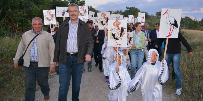 Karacabey'de '13. Leylek Festivali' İçin Geri Sayım Başladı