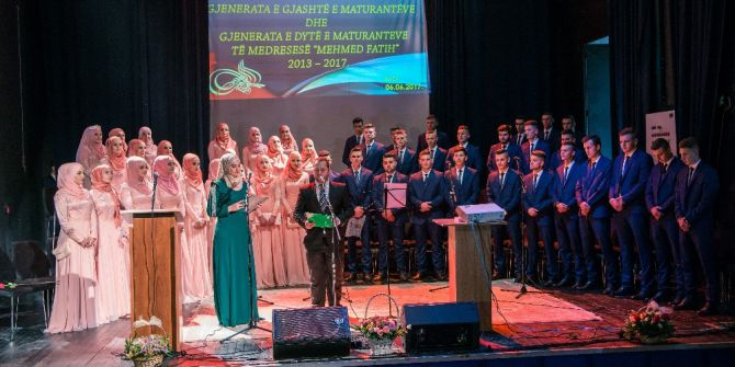 Karadağ Mehmed Fatih Medresesi Altıncı Mezunlarını Verdi