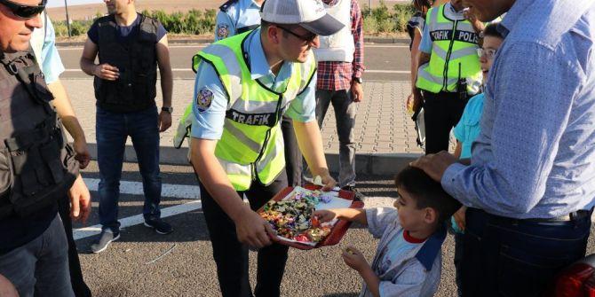 Trafik Polislerinin Bayram Mesaisi