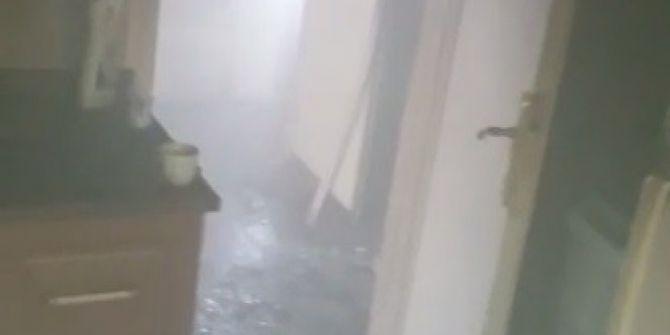 Zonguldak'ta Korkutan Yangın