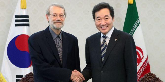 İran İslami Şura Meclisi Başkanı Laricani, Güney Kore Başbakanı İle Görüştü