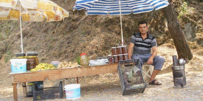 Aydın'da Üretici Yola Çıktı