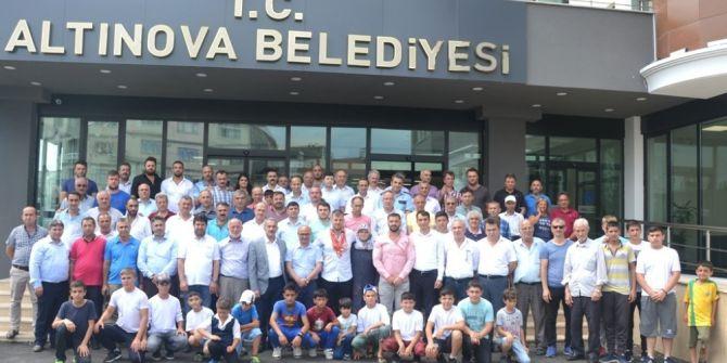 Semih Turgut İçin Altınova'da Tören