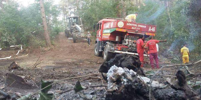Amanos'larda Orman Yangını
