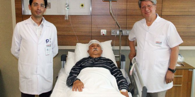 Beyin Kanaması Geçiren Hasta Bir Gün Sonra Yürüdü