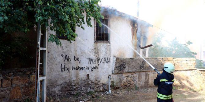 Yozgat'ta Müstakil Ev Yangında Kül Oldu