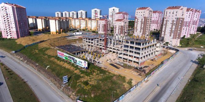 İlkadım Belediyesi'nin Yeni Hizmet Binasının İnşaatı Hızla Yükseliyor
