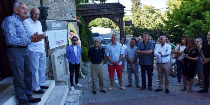 """Süleymanpaşa'da """"İzlenim-yorum Budapeşte Resim, Fotoğraf Ve Seramik Sergisi"""" Açıldı"""