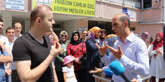 Trabzon Çamlık Özel Eğitim Meslek Lisesi'nin Kapatılmasına Öğrenci Ve Velilerden Tepki