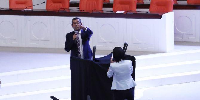 Chp Milletvekillerinin Meclis'teki İç Tüzük Eylemi Devam Ediyor