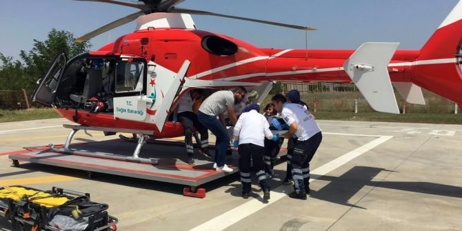 İnşaattan Düşen İşçi Helikopter İle Kaldırıldığı Hastanede Öldü