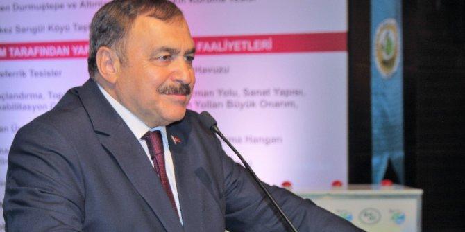 Bakan Eroğlu, Elazığ'da 7 tesisin temel atma törenine katıldı