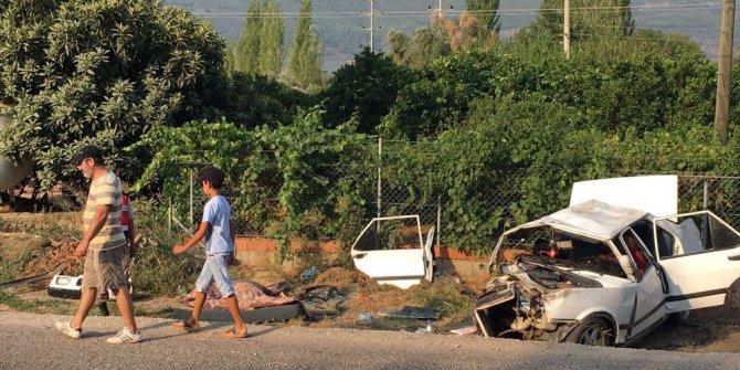 Milas'ta trafik kazası: 2 ölü, 3 yaralı