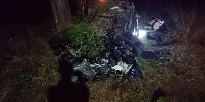 Bodrum'da trafik kazası: 2 ölü, 1 yaralı