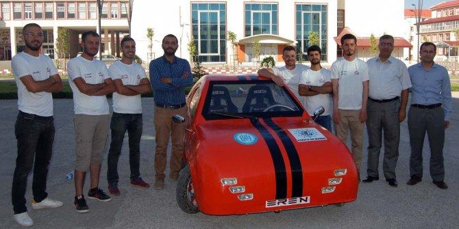 Bitlis Eren Üniversitesi bölgenin ilk elektrikli arabasını üretti