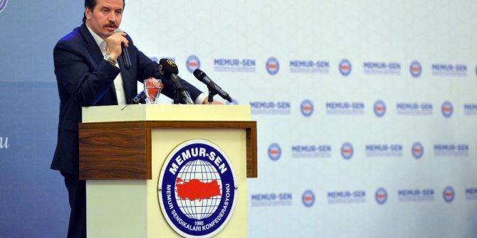 Memur-Sen Genel Başkanı Yalçın'dan hükümetin zam teklifine ilişkin açıklama
