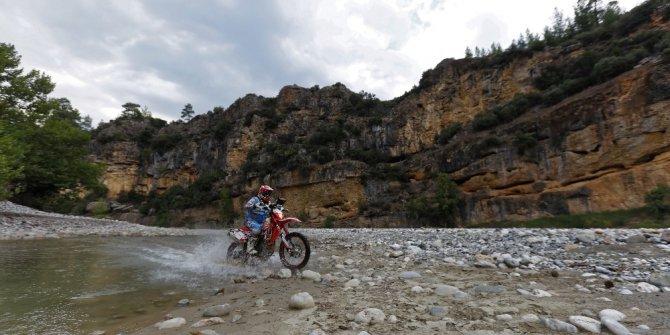 7. Transanatolia Rally Raid yarışmacıları Antalya-Aksu'da