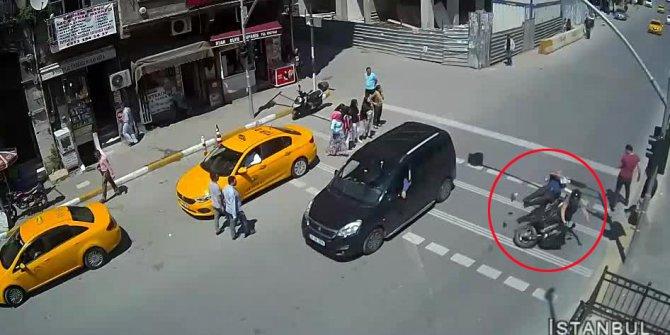 İstanbul'da meydana gelen trafik kazaları mobese kameralarında