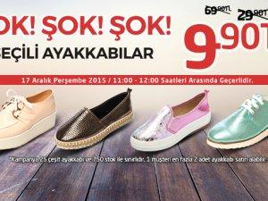 Seçili Ayakkabılar 9,90 TL
