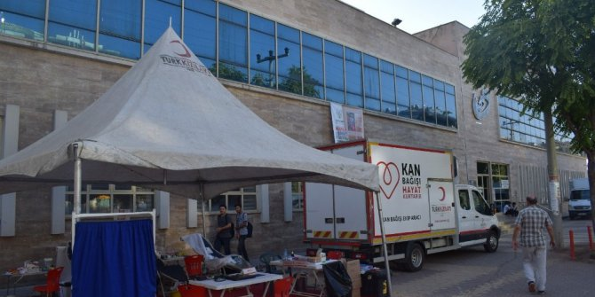 Kayapınar Belediyesinden kan bağışına destek