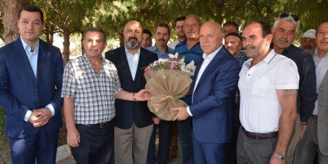 Erzurum Büyükşehir Belediye Başkanı Sekmen Akhisar'da