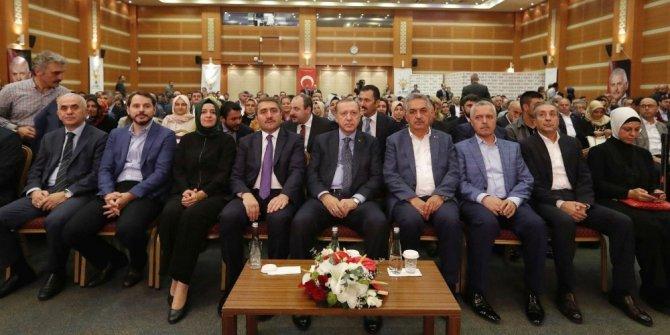 Cumhurbaşkanı Erdoğan istişare toplantısının ardından AK Parti İstanbul İl Başkanlığından ayrıldı
