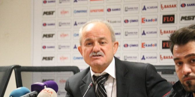 Gazişehir Gaziantep-Eskişehirspor maçının ardından