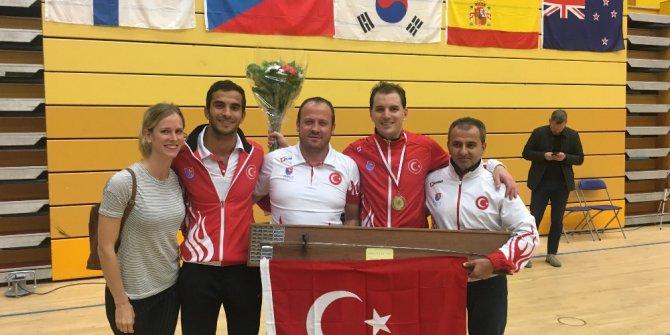 Eskrim sporcusu Minuto altın madalya kazandı