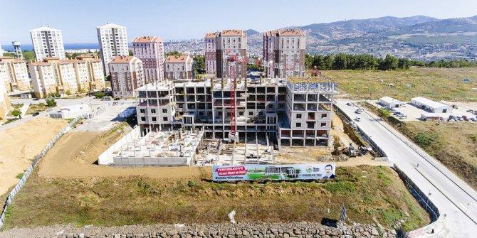 İlkadım'da yeni hizmet binası yükseliyor