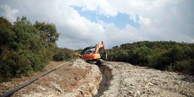 Sapanca'nın suyu 20 mahalleye daha ulaştı