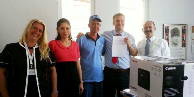 Özalp Okullarının 'Çevre Duyarlılığı' ödüllendirildi