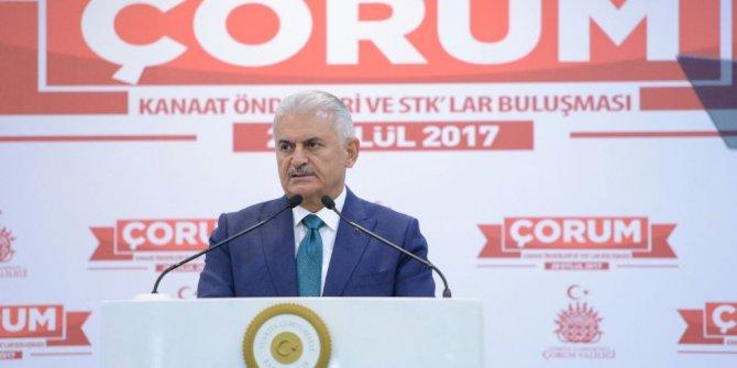 """Başbakan Yıldırım'dan IKYB yönetimine: """"Gaza gelmeyin"""""""