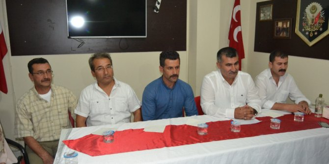 MHP Kozan İlçe Başkanlığından basın açıklaması