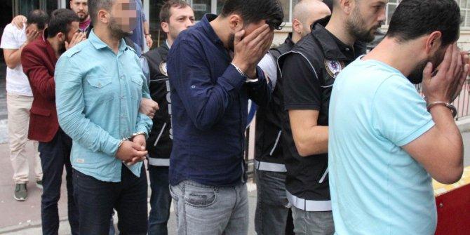 Samsun'da uyuşturucu ticaretinden 7 tutuklama