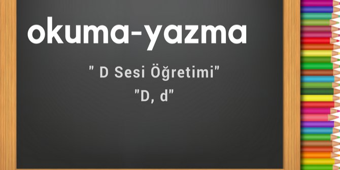 d sesi öğretimi