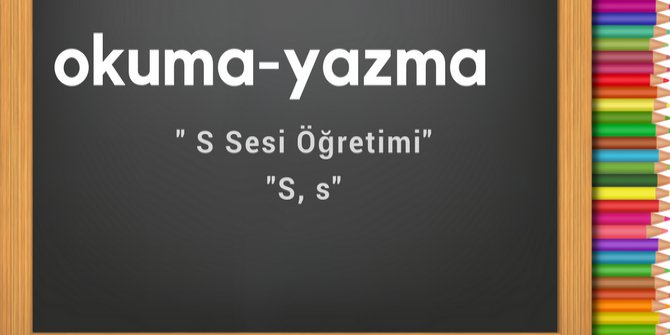 s sesi öğretimi